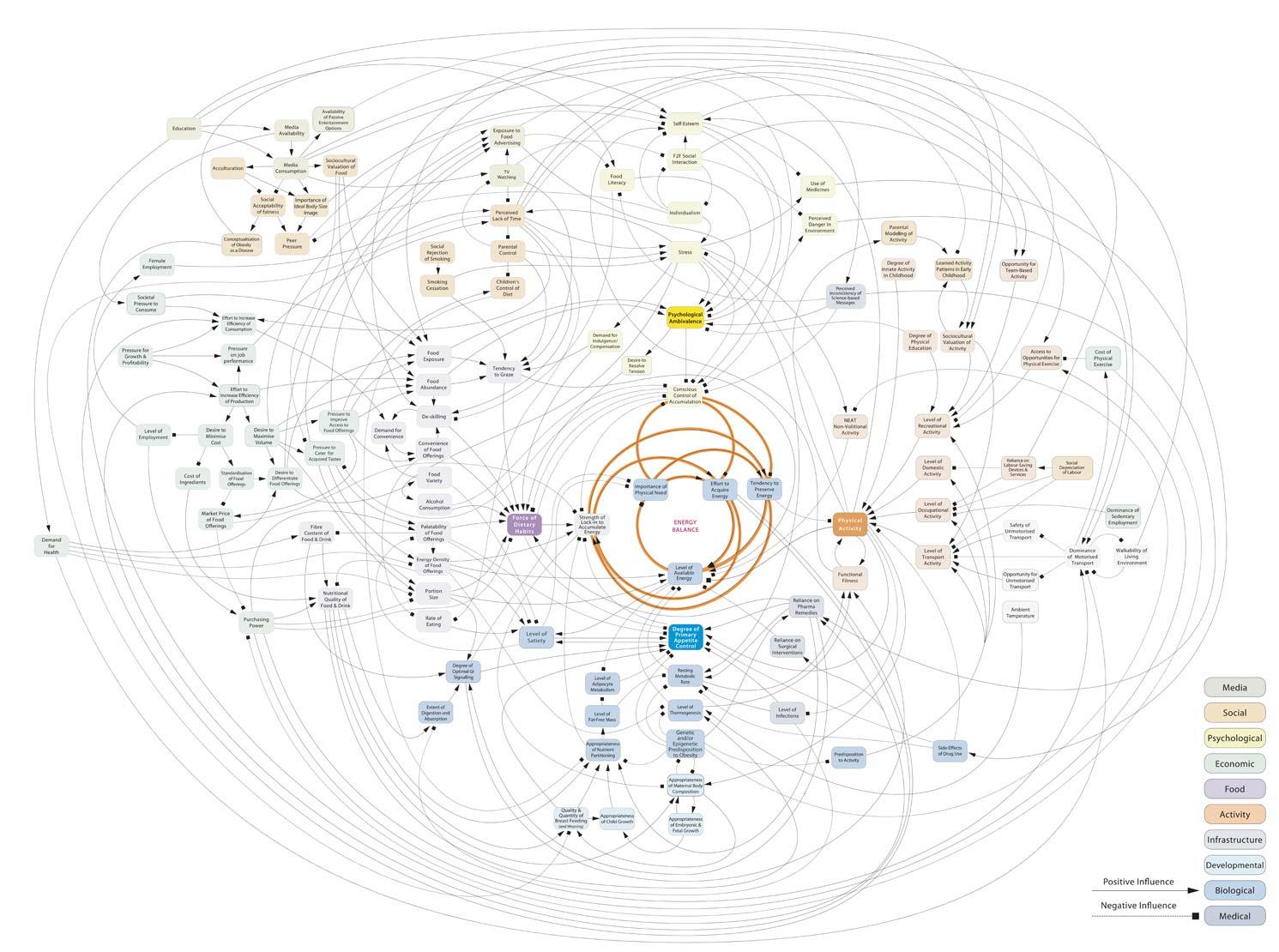 Obesidade Mapa - Foresight - Tackling obesities: future choices